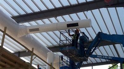 טוב מאוד גלריית פרוייקטים | פתרונות מיזוג לעסקים - מילניום קירור ומיזוג אוויר RW-14
